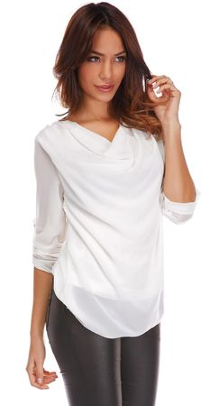 La Belle Parisienne bluzka damska Alice S biała