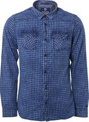 Noize Pánská košile Indigo 4746260-00-33 f83761da52