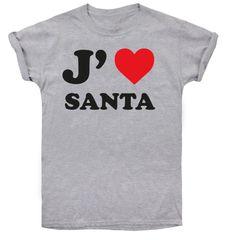 Christmas T-shirt dámské tričko I love Santa