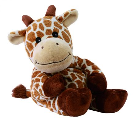 Warmies otroški termofor s sivko, žirafa
