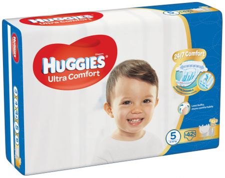 Huggies Ultra Comfort Jumbo 5 - 42ks