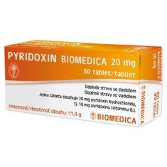 Biomedica Pyridoxin Biomedica 20mg 30 tbl.