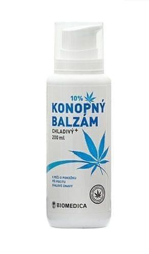 Biomedica Konopný balzám chladivý 200 ml