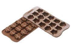 Silikomart Silikonová forma na čokoládu – sovičky