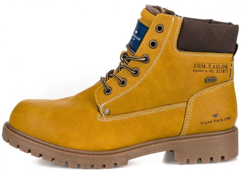 9e30a178b2 Tom Tailor pánská kotníčková obuv 44 žlutá