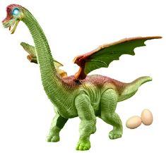 Rappa Dinozaver hodi in postavi jajca - zelen
