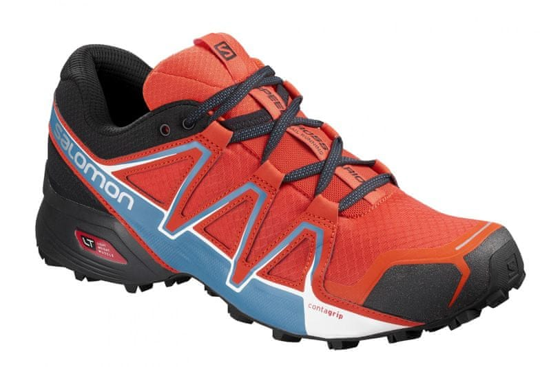Salomon Speedcross Vario 2 Cherry Tomato/Black/Fjord Blue 44.0