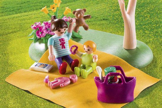 Playmobil kovček družinski piknik, 9103
