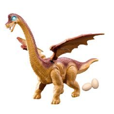 Rappa Dinozaver hodi in postavi jajca - rjav