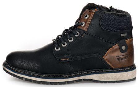 Tom Tailor buty za kostkę męskie 41 czarny