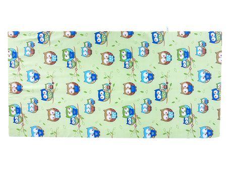 COSING Otroška vzmetnica 120 × 60 × 7 cm, zelena