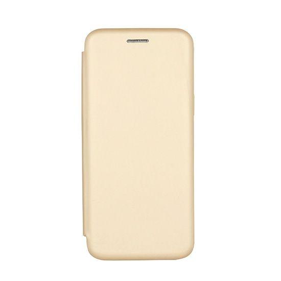 Havana torbica Premium Soft za Huawei Y7 2018, preklopna, zlata
