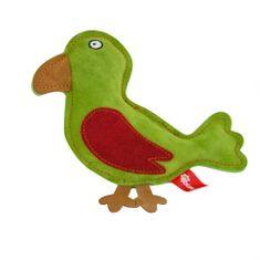 Akinu hračka vtáčik PREMIUM koža zelená