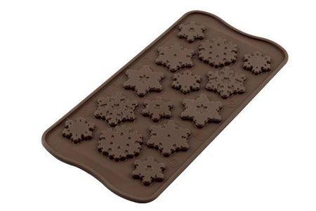 Silikomart Silikonová forma na čokoládu – sněhové vločky