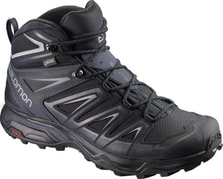 Salomon X Ultra 3 Mid Gtx® Black/India Ink/Monument 43.3