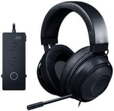 Razer slušalke Kraken Tournament Edition, črne