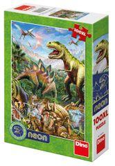 Dino SVĚT DINOSAURŮ 100XL neon