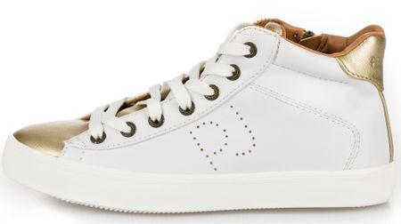 Pepe Jeans dámské kotníčkové tenisky Stark Combi 36 bílá