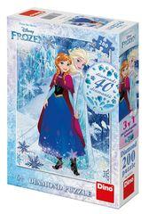 Dino sestavljanka Frozen: Sestrska ljubezen 200 diamond