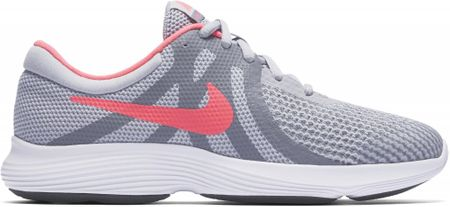 Nike dívčí tenisky Revolution 4 (GS) Running Shoe 35,5 šedá