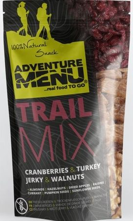 Adventure Menu Trail Mix - Brusinka/Krůtí Jerky/Vlašské ořechy 100g