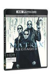 Matrix Reloaded (3 disky) - Blu-ray + 4K ULTRA HD