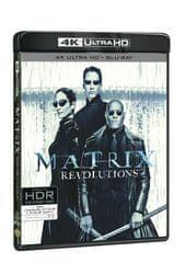 Matrix Revolutions (3 disky) - Blu-ray + 4K ULTRA HD