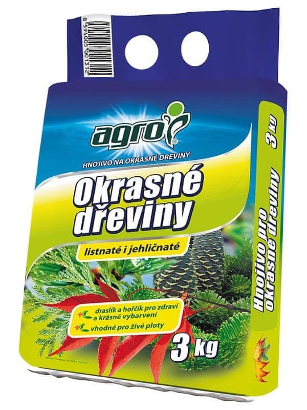 AGRO CS Hnojivo pro okrasné dřeviny 3 kg