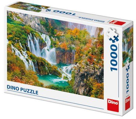 Dino sestavljanka Plitvička jezera, 1000 kosov