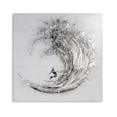 Papillon Obraz Surfer 100 cm, olej na plátně