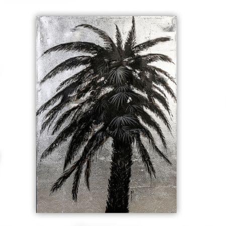 Papillon Obraz Palm Tree 100 cm, olej na plátně