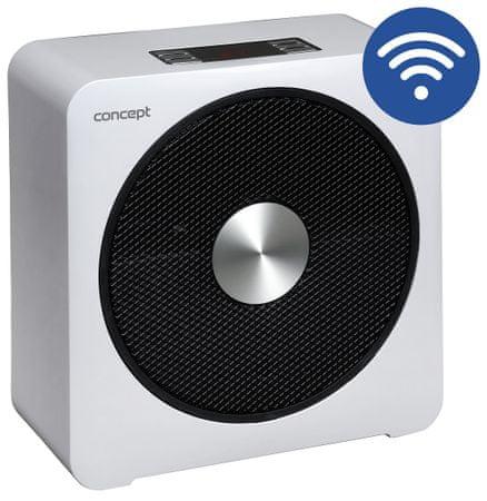 CONCEPT VT5000 WIFI Teplovzdušný ventilátor biely