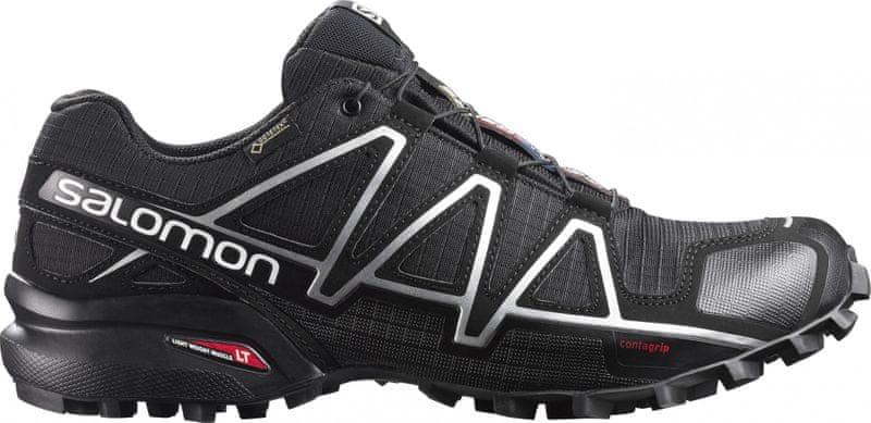 ... 2 - Salomon Speedcross 4 Gtx® Black Black Silver Metallic-X 42.7 ... e9ed9af6ecf