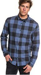 Quiksilver Pánská košile Motherfly Flannel Bijou Blue Motherfly Check EQYWT03728-BNG1