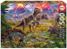 Educa sestavljanka Dinozavri, 500 kosov