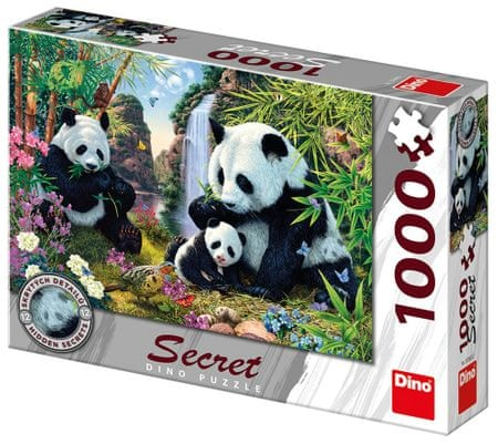 DINO Pandák secret collection 1000 db