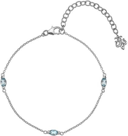 Hot Diamonds Srebrna bransoletka Hot Diamonds Anais blue Topaz AB012 srebro 925/1000