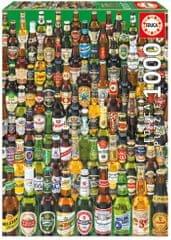 Educa sestavljanka vsa piva sveta, 1000 kosov