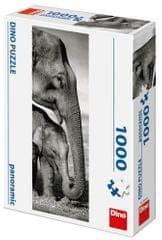 Dino Sloni panoramic 1000 dílků