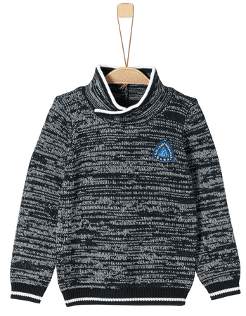 s.Oliver fantovski pulover, 116 - 122, siv