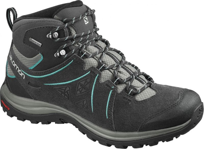 Salomon Ellipse 2 Mid Ltr Gtx® W Phantom/Castor Gray/Aruba Blue 37.3