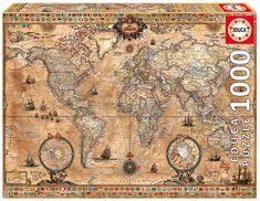 Educa sestavljanka karta antičnega sveta, 1000 kosov