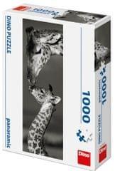 Dino Žirafy panoramic 1000 dílků