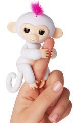 WowWee interaktywna zabawka Fingerlings - małpka Sophie, biała