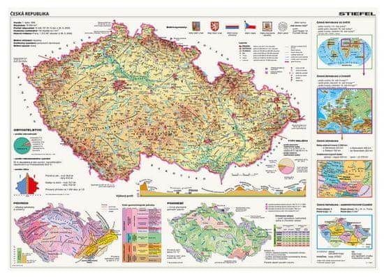 Dino Mapy České republiky 2000 dílků