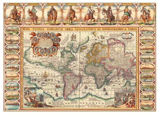 Dino Historická mapa světa 2000 dílků
