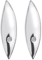 Hot Diamonds Stříbrné náušnice Hot Diamonds Leaf DE452 stříbro 925/1000