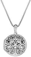 Hot Diamonds Small Circle Filigree Locket medálDP667 ezüst 925/1000