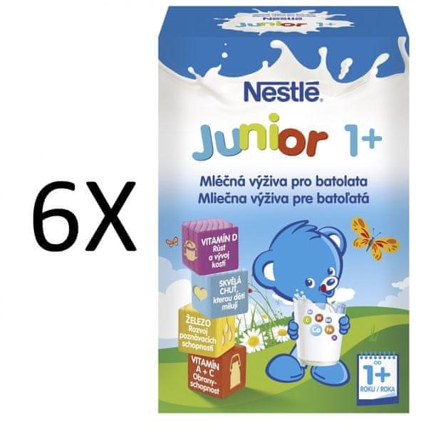 Nestlé mléko Junior Doremi 1+ 700g 5+1 zdarma