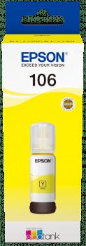 Epson 106 EcoTank črnilo, rumeno (C13T00R440)
